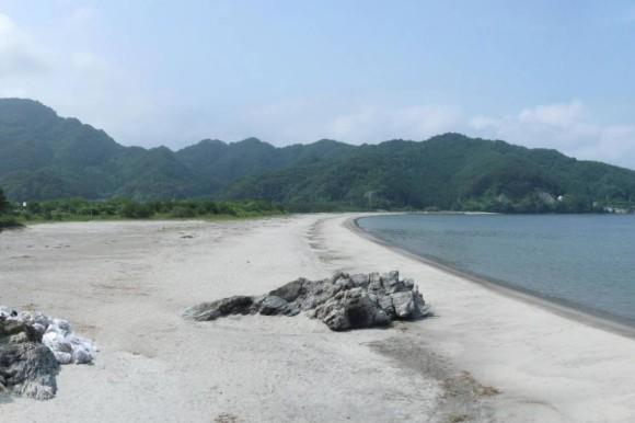 被災前の根浜海岸