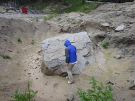 昭和三陸津波で運ばれた津波石