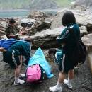 在haipe海岸找到什麼的學生們