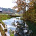 源水川(湧水)とイトヨの生息地