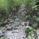 下戸鎖の枕状溶岩