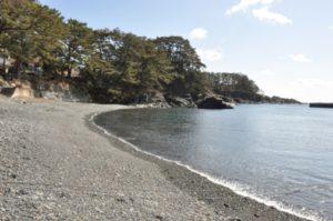 碁石海岸・碁石浜